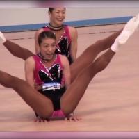 女子スポーツ★開脚シーンと下半身を集めました!スローで分かりやすく見れます!